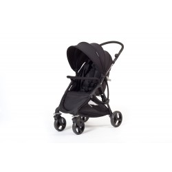 Silla de paseo Compact + set vestidura color negro de Baby Monsters